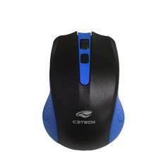 Mouse Óptico Notebook sem Fio M-W20BL - C3 Tech