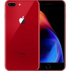 Smartphone Apple iPhone 8 Plus Vermelho 64GB iOS Câmera Dupla