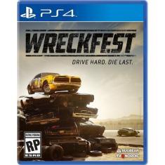 Jogo Wreckfest PS4 THQ