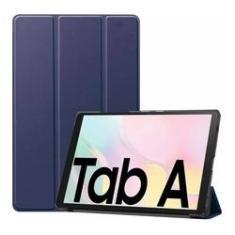 Capa Smart Case Samsung Galaxy Tab A7 10,4'' (2020) Sm-T505 Sm-T500- AZUL