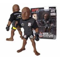Imagem de Boneco Action Figure Ufc Ultimate Fighting Championship - Anderson Silva The Spider Camiseta Corinthians