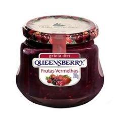 Imagem de Geleia de Frutas s Zero Açúcar QueensBerry 280g