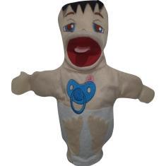 Imagem de Fantoche De Mão Bebê -Med. 28X14 - Tia Paula Fantoches