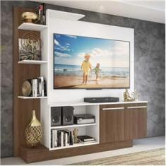 Imagem de Estante Home Theater com Suporte para TV até 55`` Denver Multimóveis /Madeirado