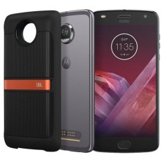 Smartphone Motorola Moto Z Z2 Play Sound Edition XT1710 64GB Qualcomm Snapdragon 626 12,0 MP 2 Chips Android 7.1 (Nougat) 3G 4G Wi-Fi