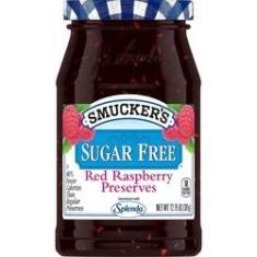Imagem de Geleia de Framboesa Raspberry Sem Açúcar Smuckers 362g