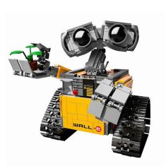 Imagem de Legoing Series Criador Idea rob Wall E suportados por Building Blocks Brinquedos