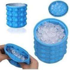 Imagem de Mini Forma Porta Cubos De Gelo De Silicone Geladeira