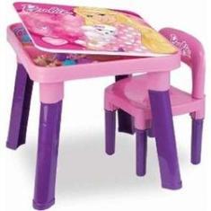 Imagem de Mesinha Com Cadeira Barbie Fun BB6000