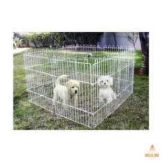 Cercado Para Cachorro Pets Cães Pequenos Animais Mini Cercado Canil Para Cães Portátil Sem Porta 6 Peças