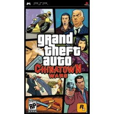 Jogo GTA: Chinatown Wars Rockstar PlayStation Portátil