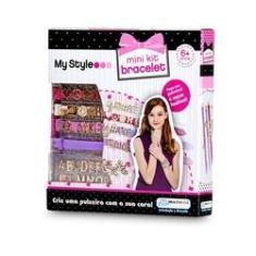 Imagem de My Style - Kit Pulseira com Letras Biju - Multikids