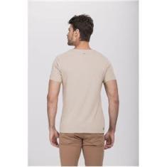 Imagem de Camiseta Lino Natural Bege
