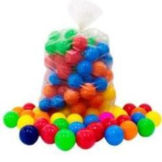 Imagem de Bolinha Para Piscina Coloridas Sortidas Com 100 Unidades