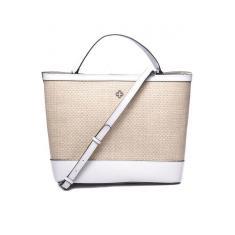 Imagem de Bolsa Feminina Capodarte Handbag Palha E Couro