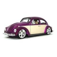 Imagem de Miniatura Fusca Volkswagen Beetle Hotrider Welly 1/24