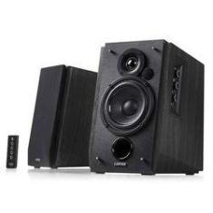 Monitor de Áudio Edifier R1700BT Black 66W RMS Bluetooth com Controle Remoto (Par)