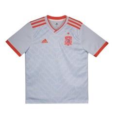 Camisa Infantil Espanha II 2018 19 Torcedor Infantil Adidas c29b1de8a9784