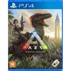 Jogo Ark Survival Evolved PS4 Studio Wildcard