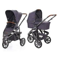 Imagem de Carrinho de Bebê Salsa 3 Rodas com Moisés Style Street ( Escuro) - ABC Design