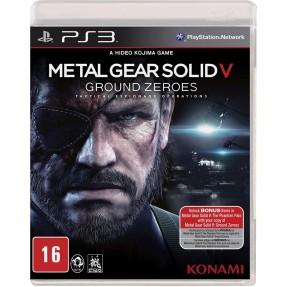 Imagem de Jogo Metal Gear Solid V: Ground Zeroes PlayStation 3 Konami