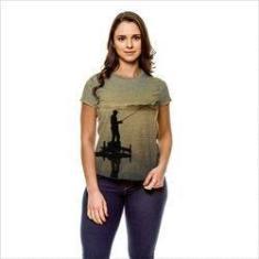 Imagem de Camiseta Pesca Esportiva Sunset  Feminina