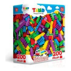 Imagem de Blocos De Montar 200 Peças 2419 - Toyster