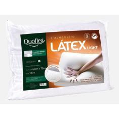 Imagem de Travesseiro Latex Light - Duoflex 50 x 70 x 16