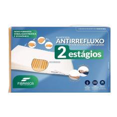 Imagem de Travesseiro Fibrasca Anti Refluxo 2 Estágios Adulto 4086 60x80x15cm Laranja