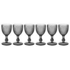 Imagem de Conjunto De 6 Taças Para Vinho Bico De Jaca -  - Incasa
