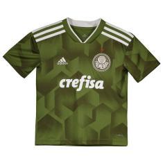 Camisa Infantil Palmeiras III 2018 19 Torcedor Infantil Adidas 1745e2ddedc17