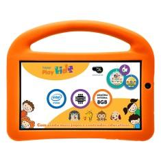 "Tablet DL Eletrônicos PlayKids 8GB 7"" Android 5.1 (Lollipop)"