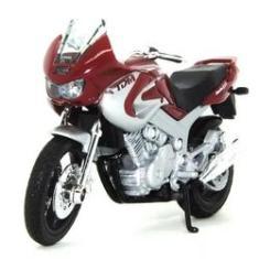 Imagem de Moto Miniatura Yamaha Tdm850 Welly Califórnia Cycle 1:18