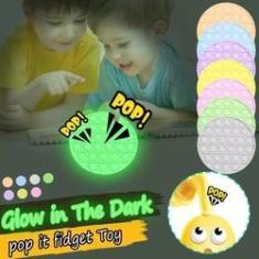 Imagem de Pop It Fidget Toy Pop Sensorial Toy Brilha No Escuro
