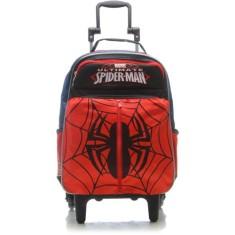 Imagem de Mochila com Rodinhas Escolar Sestini Spiderman 16Y01 M 64220
