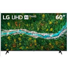 """Smart TV LED 60"""" LG ThinQ AI 4K HDR 60UP7750PSB"""