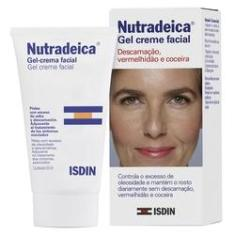 Imagem de Gel Creme Facial Isdin - Nutradeica Pele descamativa