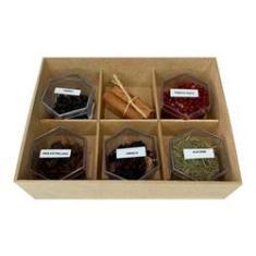 Imagem de Kit Gin Casa 6 Especiarias Para Preparação De Gin & Tônica