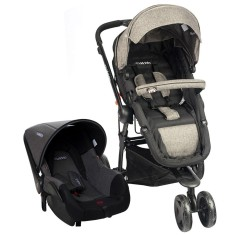 Carrinho de Bebê Travel System com Bebê Conforto Kiddo Compass III 890