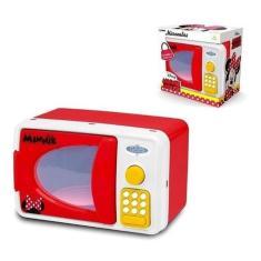 Imagem de Micro-ondas Da Minnie De Brinquedo Para Meninas Com Som