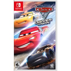 Jogo Cars 3 Driven to Win Warner Bros Nintendo Switch