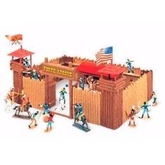 Imagem de Forte Apache Super Batalha 34 Pç Brinquedos Antigos Gulliver