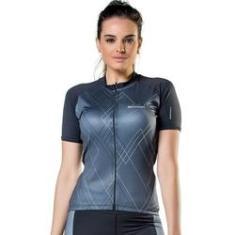 Imagem de Camisa Feminina Ciclismo Elite 135003  e Grafite
