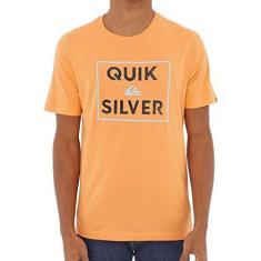 Imagem de Camiseta Quiksilver Boxed Intent Masculina Laranja