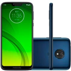 Smartphone Motorola Moto G G7 Power XT1955-1 TV Digital 32GB Qualcomm Snapdragon 632 12,0 MP 2 Chips Android 9.0 (Pie) 3G 4G Wi-Fi