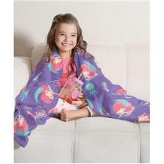 Imagem de Manta Flannel Fleece Lepper Infantil Oceano Colorido Lp57469