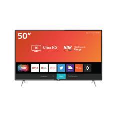 "Smart TV LED 50"" AOC 4K HDR 50U6295 3 HDMI"