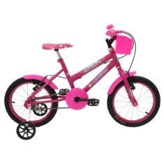 Bicicleta Cairu MTB Aro 16 Fadinha