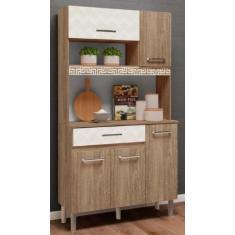 Imagem de Cozinha Compacta 1 Gaveta 5 Portas Magazin Nicioli