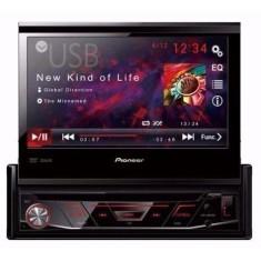 """DVD Player Automotivo Pioneer 7 """" AVH-3880DVD USB Entrada para camêra de ré"""